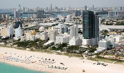 Miami Beach in Florida