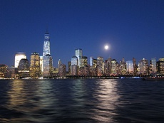 New York City – Largest urban area in the Americas, with a population of 18,351,295 in 2010.