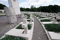 Cemetery of the defenders of Lwów in 2011