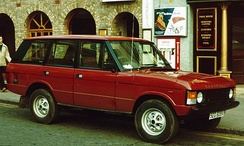Early Range Rover five-door