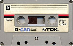 A typical Compact Cassette