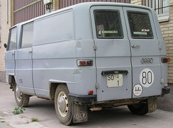 Spanish built DKW F 1000 L van
