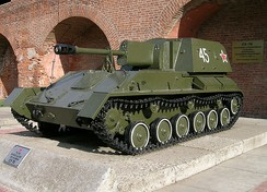 The Soviet SU-76 was easily constructed in small factories incapable of producing proper tanks
