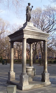 A temperance fountain in Tompkins Square Park, New York City