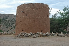 The Torreon, where Murphy's sharpshooters were stationed