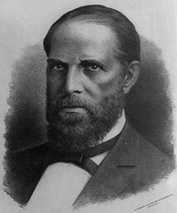 Former Representative William Hayden English of Indiana was nominated for vice president.
