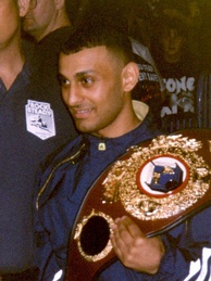 "Featherweight champion ""Prince"" Naseem Hamed was a major name in boxing and 1990s British pop culture"
