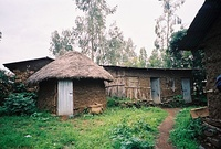 Synagogue in the village of Wolleka in Ethiopia.