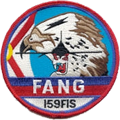 Legacy F-16 Emblem of the 159th Fighter-Interceptor Squadron