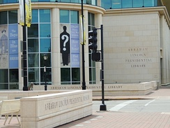 Abraham Lincoln Presidential Library and Museum at Springfield, Illinois