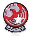 4477th TES Officer patch