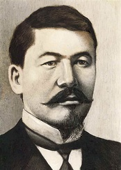 Alikhan Bukeikhanov, a Kazakh statesman who served as the Prime Minister of the Alash Autonomy from 1917 to 1920