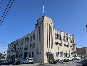 The Anchor Brewing Company building on Potrero Hill in San Francisco (2020)