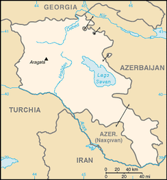 Armenia and neighbouring countries