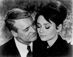 With Cary Grant in Charade (1963)
