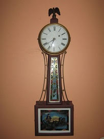 An example of a banjo clock