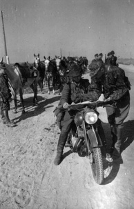 SS cavalry in the occupied Soviet Union, June 1942