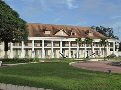 Former Government House in Cayenne, French Guiana, begun 1729