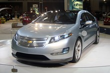 2011 Volt's frontal view