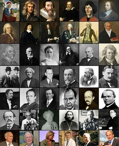 Set of pictures for a number of notable Christian scientists and Inventors.