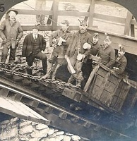 Coal miners in Hazleton, Pennsylvania, in 1900.