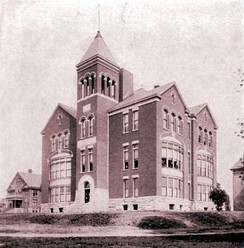 Lexington Theological Seminary (then College of the Bible), 1904.