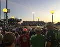 Daytona Tortugas fans taking in a game at The Jack from the Bud Bullpen