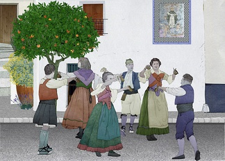 Traditional Valencian dances
