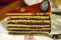 Dobos torte is an older form of layer cake.