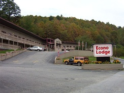 An Econo Lodge in Montpelier, Vermont circa 2004