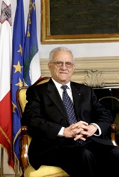 Eddie Fenech Adami, Prime Minister of Malta 1987–96 and 1998–2004, and President of Malta 2004–09