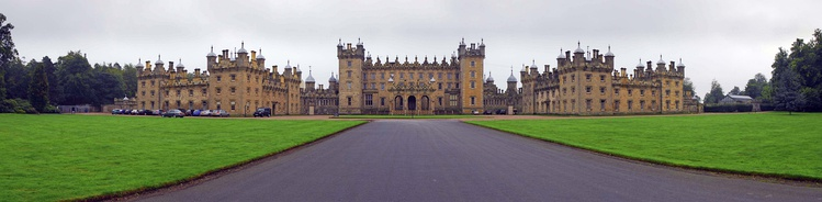 Panoramic Photo of Floors Castle