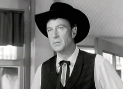 Gary Cooper in the controversial High Noon, which was said to be an allegory on McCarthyism.