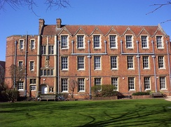 Rectory Road's Goldie Wing is one of the remaining buildings of a former convent.