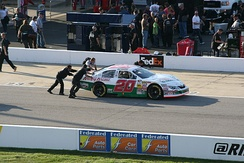 Gaulding's No. 20 Toyota in the K&N Pro Series East race at Richmond International Raceway