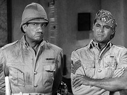 McLaglen and Cary Grant in Gunga Din (1939)