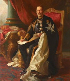 King George V, Emperor of India, Sovereign Head of the order from 1910 until his death in 1936