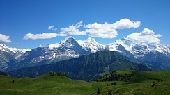 Additional filming also took place in Jungfrau in the Swiss Alps.