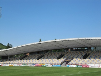 Ljudski vrt stadium, the home of NK Maribor