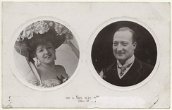 Lloyd with second husband Alexander Hurley