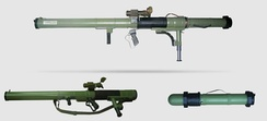 M79 Osa anti-tank weapon purchased by Saudi Arabia from Croatia for use in the Syrian Civil War