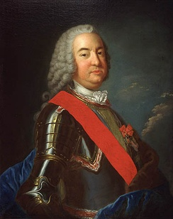 The Marquis de Vaudreuil-Cavagnal, Governor General of New France from 1755 to 1760