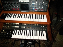 Synthesizers played a crucial part in the development of post-disco.