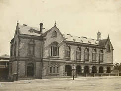 Old Parliament House in 1872