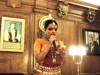 Baisali Mohanty announcing the Oxford Odissi Centre.