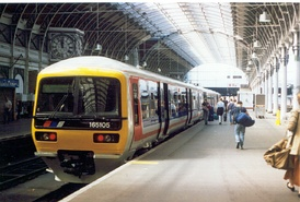 Class 165 DMUs were introduced to the Chiltern Main Line by Network SouthEast