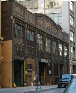 Building in New York City where the Paradise Garage nightclub was located