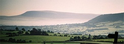 Pendle from the west. (Longridge Fell is to the right.)