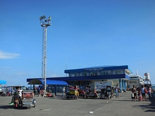 The Passenger Ferry Terminal in Lucena has RORO vessels that transport passengers across Tayabas Bay to Marinduque, Romblon and Masbate.