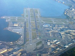 San Francisco International Airport is the primary airport of San Francisco and the Bay Area